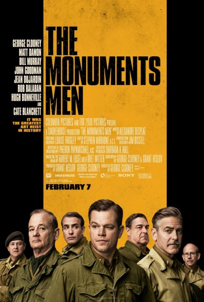 "Though packed with an ensemble cast, ""The Monuments Men"" fails to deliver.  (Photo provided by impawards.com)"