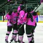 "Lakers sweep annual ""Pink the Rink"" weekend series"