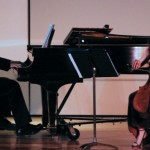 Cellist Elinor Frey performs as part of Ke-nékt concert series