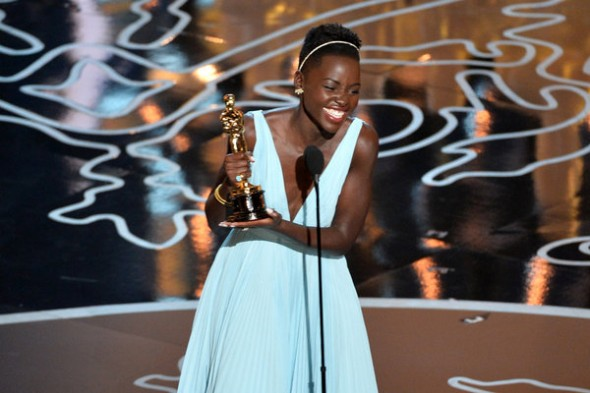 Lupita Nyong'o got to take home the best supporting actress award for her riveting performance in  '12 Years A Slave.' (Photo provided by mije.org)
