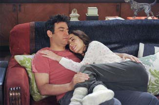 "Josh Radnor and Cristin Milioti in the ""How I Met Your Mother"" series finale. Reviews were split among fans.  (Photo provided by CBS)"