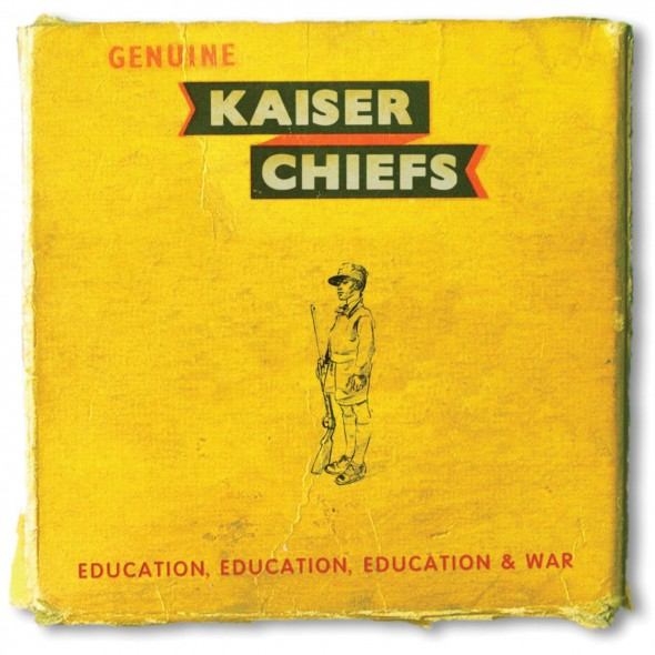 "In ""Education, Education, Education & War,"" the Kaiser Chiefs develop a  more professional and mature sound.  (Photo provided by rollingstone.com)"