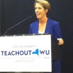 Around SUNY: Teachout addresses state issues to Oneonta State students