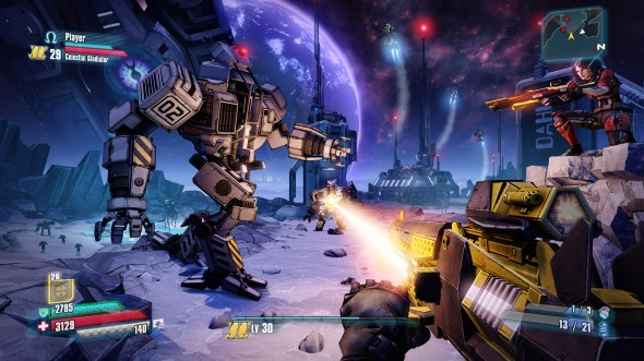 """Borderlands: The Pre-Sequel!"" strikes up fun and entertainment in the first-person shooter's third high-energy installment.  (Photo provided by pcpowerplayer.com)"