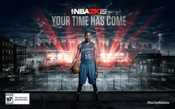 Hoop fans can now either create their own players in their own image and forge their path to superstardom or just have fun playing as Kevin Durant and other NBA stars.  (Photo provided by perklister.com)