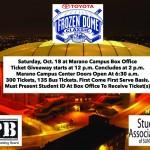 SA, SAPB offer unique chance for Dome tickets