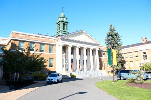 U.S. News and Media Group rankings change their criteria for ranking every year, which causes colleges like Oswego to see drastic changes year to year.  (David Armelino | The Oswegonian)