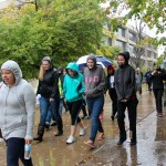 Students partake in United Way Walk