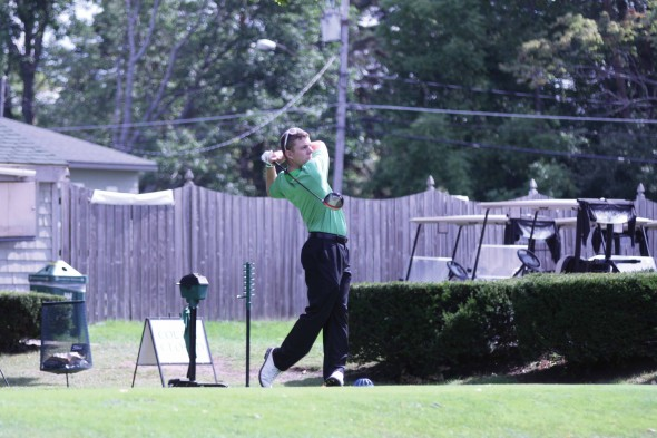 Junior captain Dan North is hoping for better results for the men's golf team in the spring season.  (Photo provided by Sports Information)