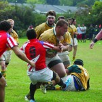 Men's rugby develops brotherhood through passing down love of game