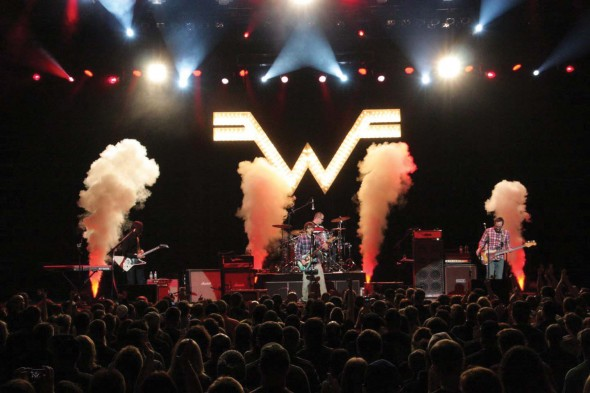Although never reaching the heights of their previous ouvres, Weezer's new album proves they still have tricks up their sleeves.  (Photo provided by Weezer.com)