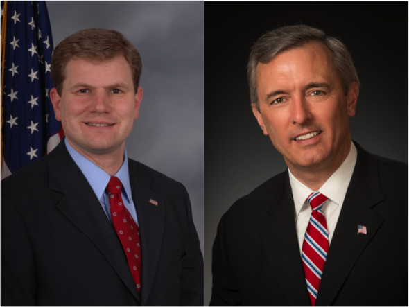 Democrat Rep. Dan Maffei (left) and Republican hopeful John Katko (right) are the two competing candidates for the local distrcit in the 114th Congress.  (Photos provided by Dan Maffei for Congress and John Katko for Congress)