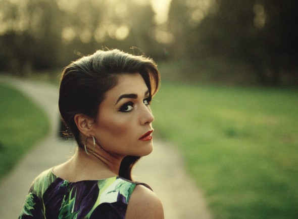 Sultry English singer-songwriter Jessie Ware passionately croons about heartbreak.  (Photo provided by vogue.com)