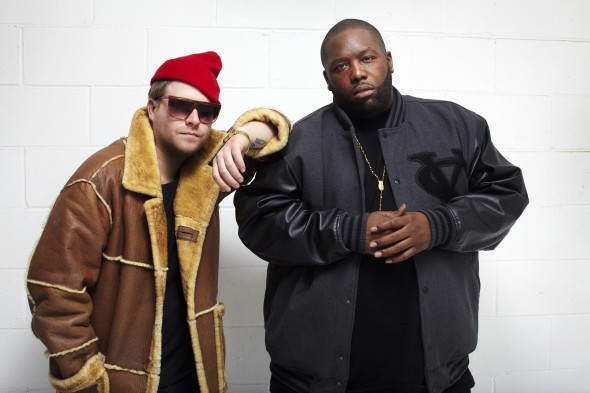 The seemingly odd couple of El-P and Killer Mike prove they're a match made in hip hop heaven over dark, futuristic beats.  (Photo provided by therepublik.ca)