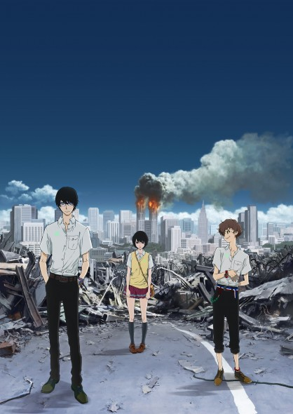 The new anime series 'Terror in Resonance' doesn't shy away from hot-button topics like domestic terrorism in the digital age.  (Photo provided by animevice.com)