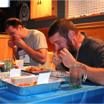 Greene's hosts first wing-eating contest