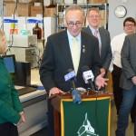 Schumer hopes Oswego to export grain