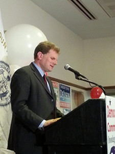 Dan Maffei loses election for the third time since 2006. (Luke Parsnow | The Oswegonian)