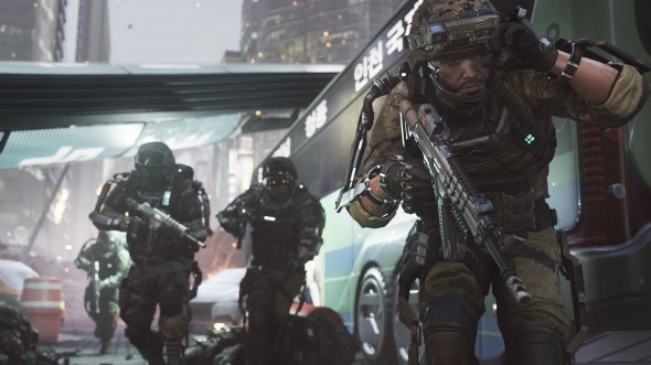 "The latest entry in the ""Call of Duty"" franchise, ""Advanced Warfare"" sets its sights on the near future and blockbuster spectacles.  (Photo provided by callofduty.com)"