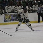 Men's ice hockey pots nine in victory over SUNY Canton