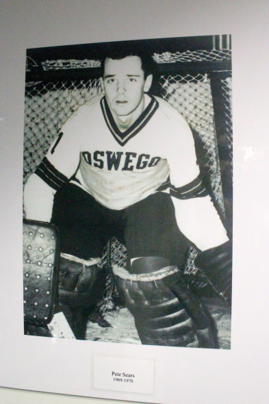 Pete Sears has been a part of the men's ice hockey program for many of the 50 years it has been around.  (Photo provided by Oswego State men's ice hockey)