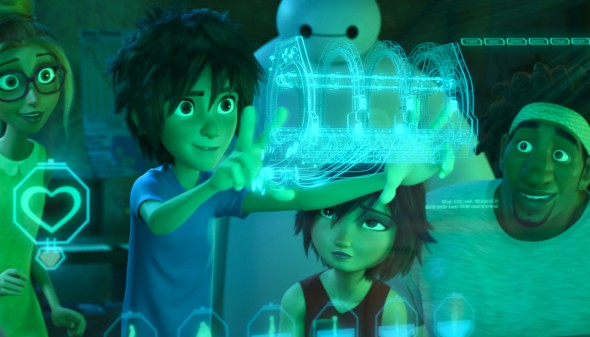 "Hiro Hamada saves the city of San Fransokyo from an evil genius in ""Big Hero 6.""  (Photo provided by disney.movies.com/big-hero-6/)"