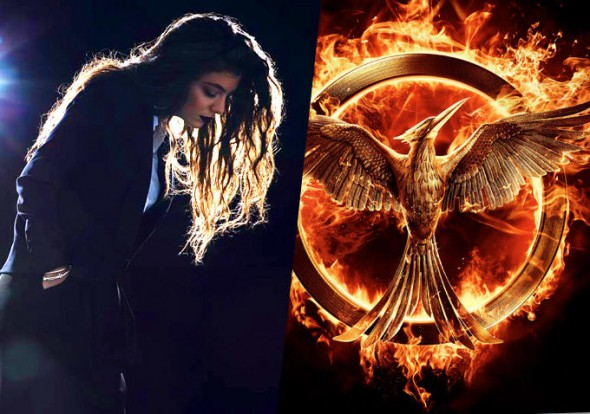 "Lorde's hand-picked tracks are a perfect companion to viewing ""Mockingjay: Part 1.""  (Photo provided by wegotthiscovered.com)"