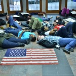 SA, BSU lead protest on national issue