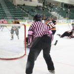 Lakers win Pink the Rink weekend opener