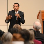 Humanitarian, actor speaks to celebrate legacy of MLK, begin Black History Month