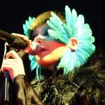 Icelandic vocalist Björk's new, dazzling reinvention of pop