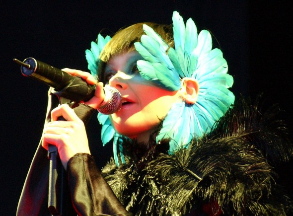 Internationally renowned singer-songwriter Björk graces her avid listeners with an entirely weird, untouchable style of her own.  (Photo provided by commons.wikimedia.org)