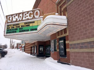 Oswego Cinema 7 is on the national register of historic places for Oswego county.