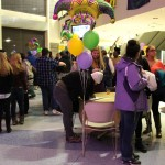 1st annual Mardi Gras event held in Marano Campus Center
