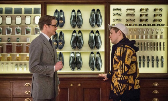Academy Award-winner Colin Firth and newcomer Taron Egerton play international men of mystery known as Kingsmen. (Photo provided by kingsmanmovie.com)