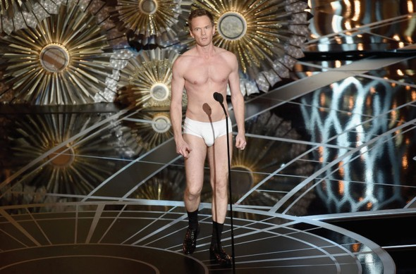 Host Neil Patrick Harris was absolutely fearless as he sang, danced and joked among the star-studded Hollywood crowd. (Photo provided by oscar.go.com)