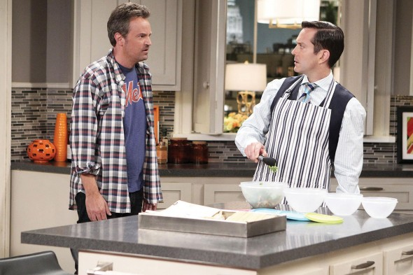 Though proven to have comedy chops, Matthew Perry and Thomas Lennon alone can't save a dull, sinking ship of a sitcom. (Photo provided by cbs.com)