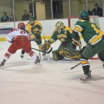 Women's ice hockey looks back
