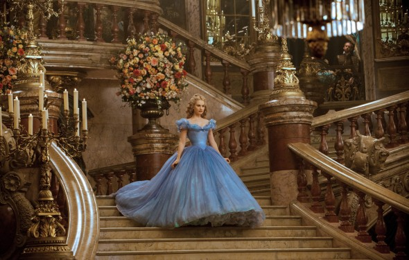 Lily James plays the would-be princess in a lavishly produced adaption of the classic story by director Kenneth Branagh. (Photo provided by movies.disney.com)