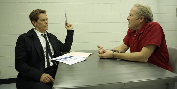 Kevin Bacon plays the complicated yet determined FBI Special Agent Ryan Hardy. (Photo provided by fox.com)