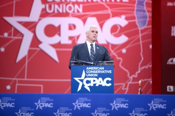 "Indiana Gov. Mike Pence gave support for the law, saying he ""support[s] the freedom of religion for every Hoosier of every faith,"" according to MSNBC. Photo provided by Gage Skidmore via flickr"