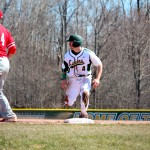 Oswego State bats explode in series opener