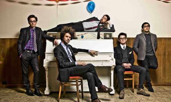 Though only made up of one permanent member, Passion Pit is filled to the brim with infectious electronic energy.  (Photo provided by whenthegramophonerings.com)