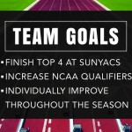 Depth key in spring of many goals for men's track