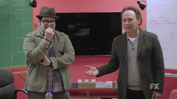 Though rife with comedic talent, Josh Gad and Billy Crystal are severely underused on the mismanaged FX sitcom. (Photo provided by fxnetworks.com)