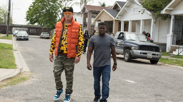 Will Ferrell (left) and Kevin Hart (right) prove that unorthodox and unexpected comedy duos still have a place in Hollywood. (Photo provided by gethardmovie.com)