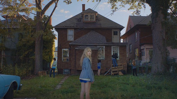 Maika Monroe plays a teenage girl relentlessly haunted by coming-of-age demons. (Photo provided by itfollowsfilm.com)