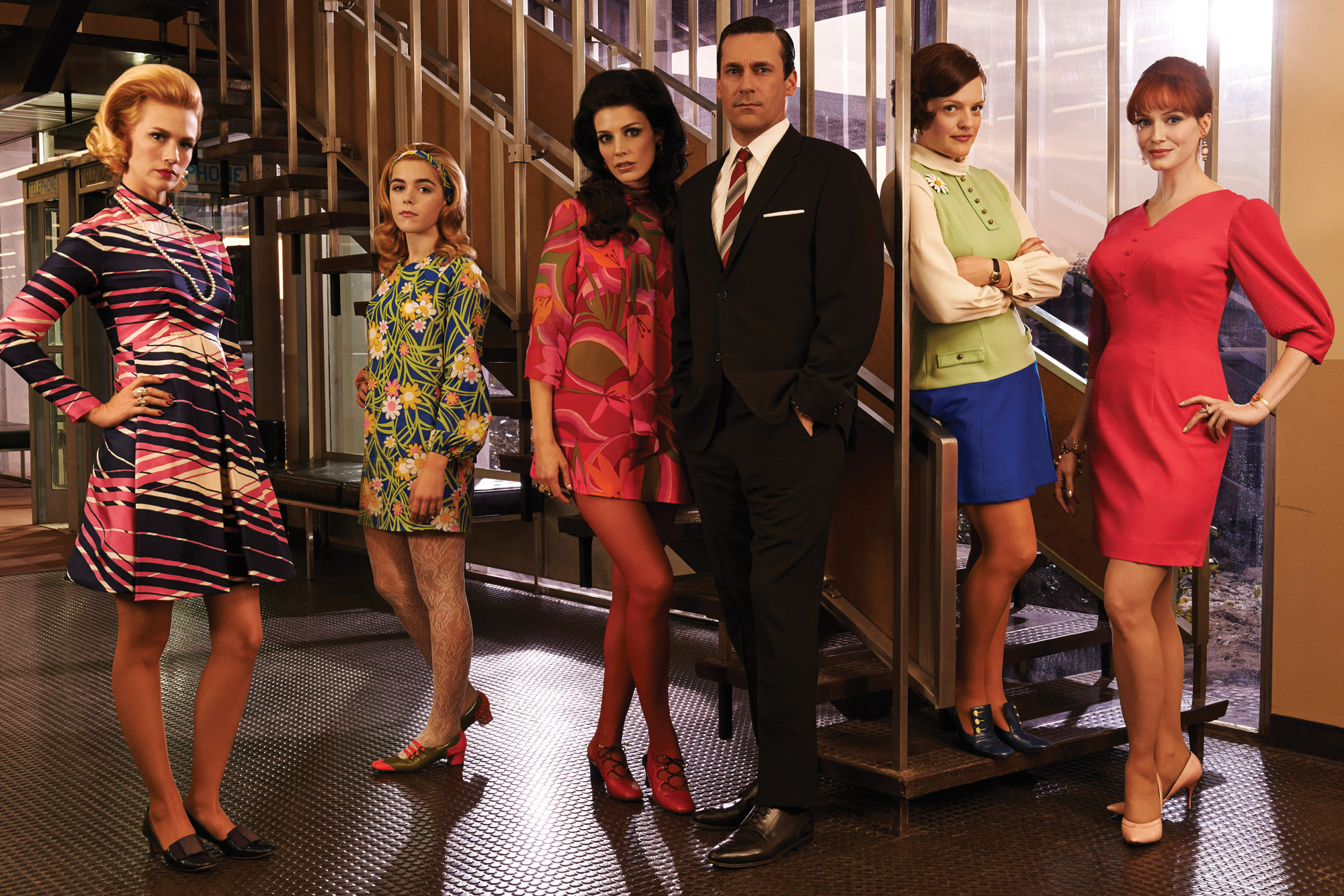 Mad Men enters its final season. (Photo provided by AMCnetworks.com)