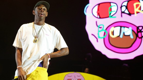 Though brash and still prone to volatile antics, Tyler, The Creator spills his mind out onto wax in beautiful ways.  (Photo provided by daytonaradio.com)