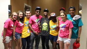 Big Sean took pictures and greeted each meet and greet recipient individually.